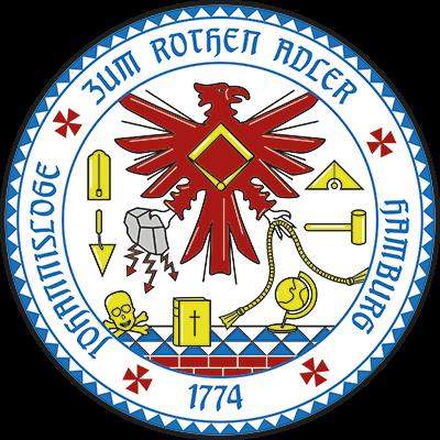 """Freimaurerloge """"Zum rothen Adler"""" in Hamburg"""